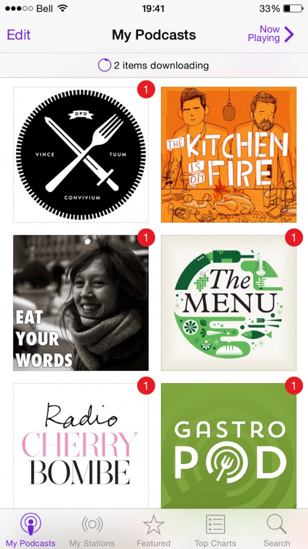 Favourite culinary podcasts | Simple Bites