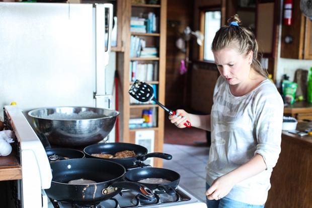 Aimee pancake flipping