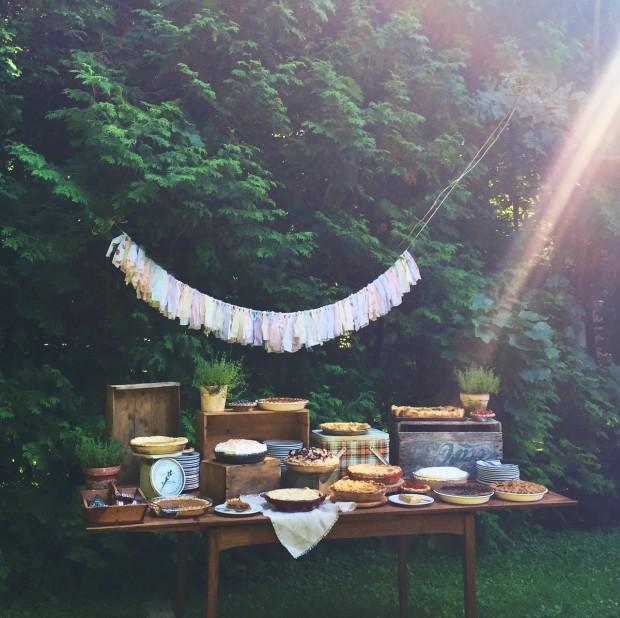 Back yard pie social | Simple Bites