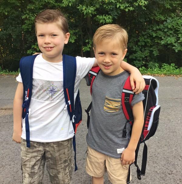 Boys to school
