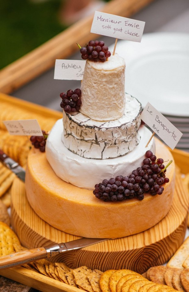 How to build a tiered cheese wheel 'cake'|| Simple Bites #entertaining #tip #cheese #weddingcake