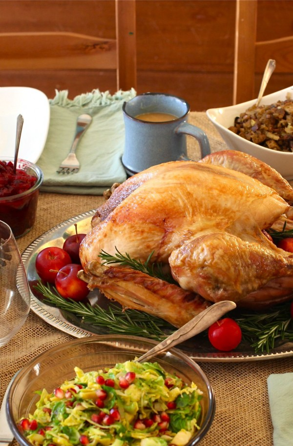 The Best Way to Roast a Turkey (simply) || Simple Bites #tutorial