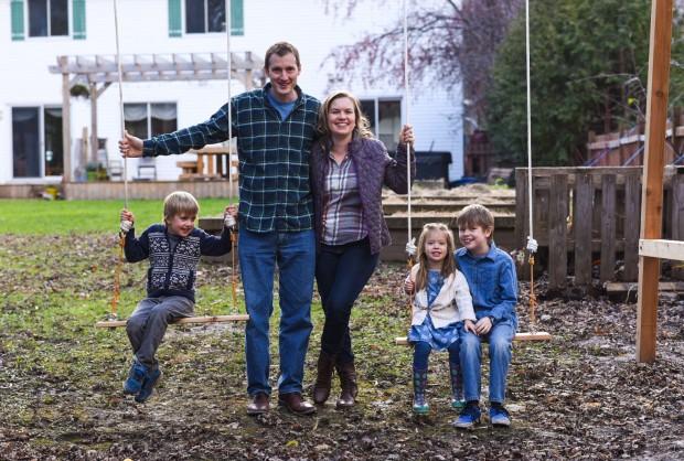 Aimee Wimbush-Bourque family photo Holiday 2015