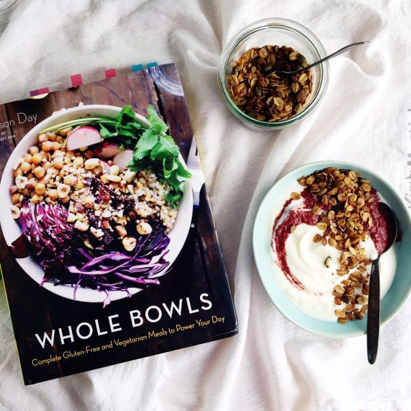 Cherry pesto form Whole Bowls cookbook