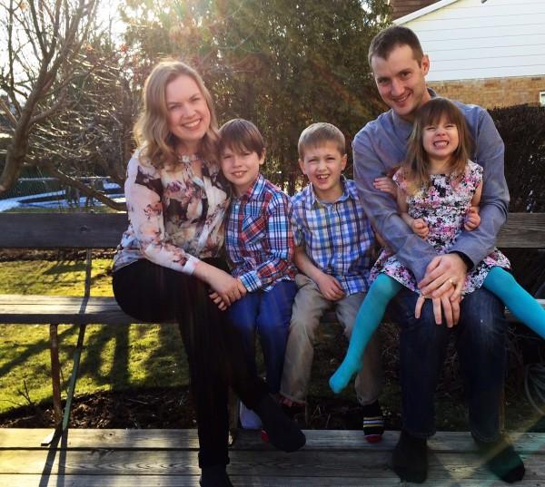 Aimee Wimbush-Bourque family photo