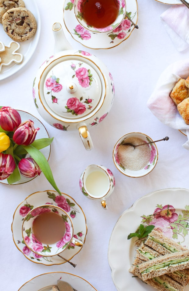 An Afternoon Tea Baby Shower || Simple Bites