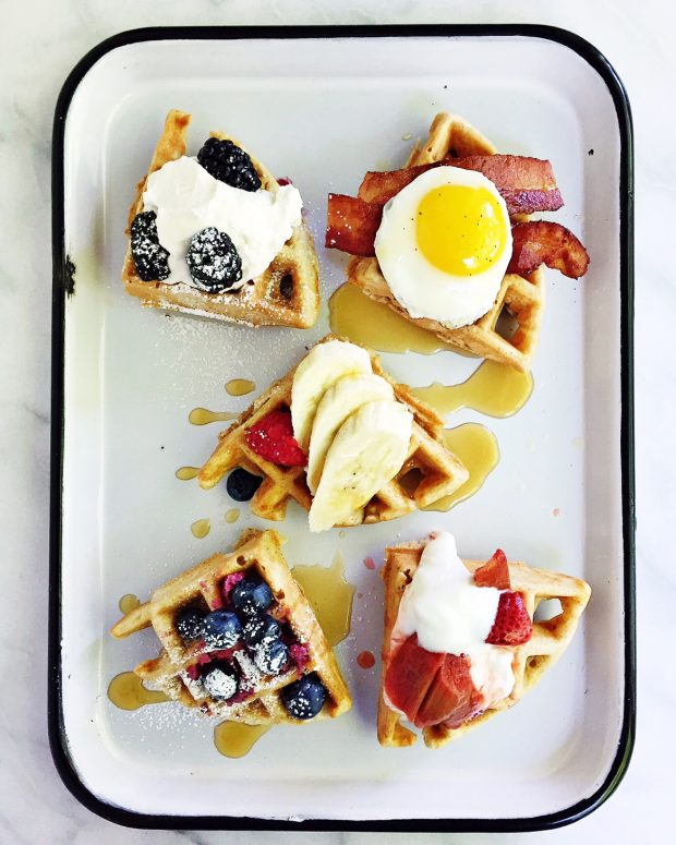 Assorted waffles | Simple Bites