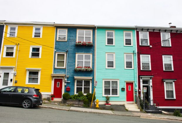 Jelly Bean Row | Family travel in Newfoundland, Canada | Simple Bites