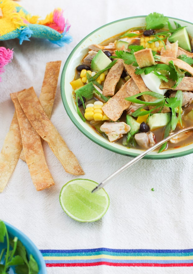 Harvest Tortilla Soup recipe | Simple Bites