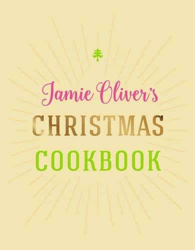 Jamie Oliver's Christmas Cookbook Cover