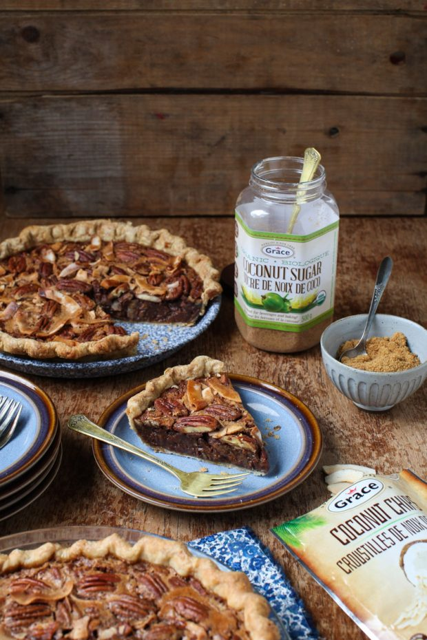 Coconut Sugar Pecan Pie with Grace Coconut || Simple Bites #Coconut4life