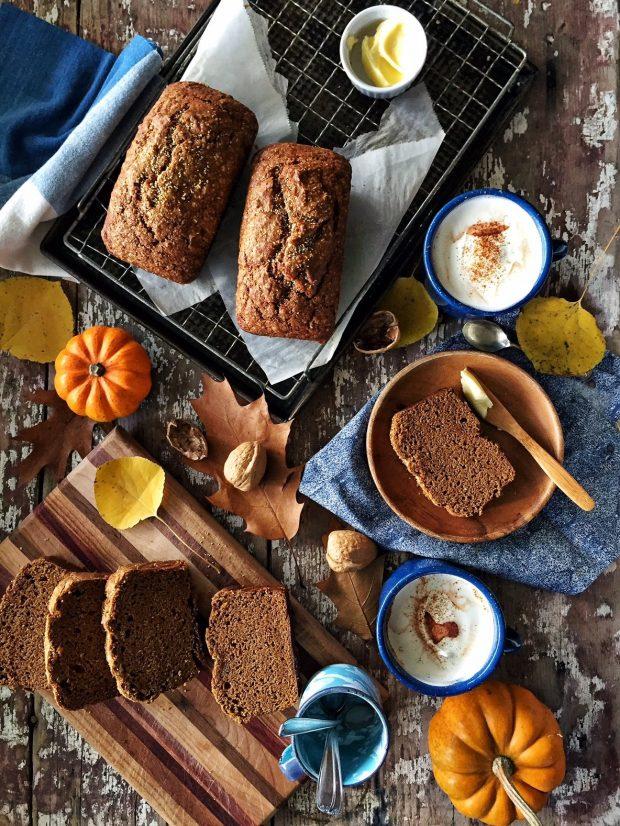 Pumpkin-Olive Oil Bread || Simple Bites