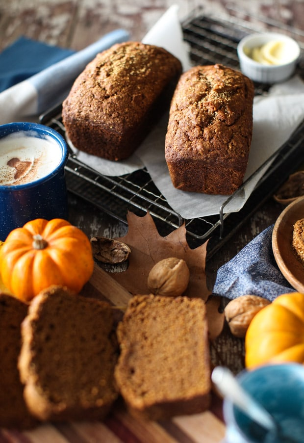 Pumpkin Olive Oil Bread || Simple Bites